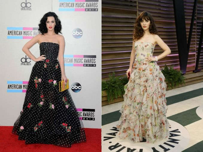 Katy Perry, Zooey Deschanel