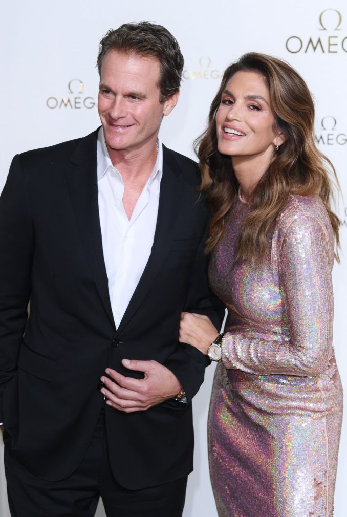 Cindy Crawford su vyru