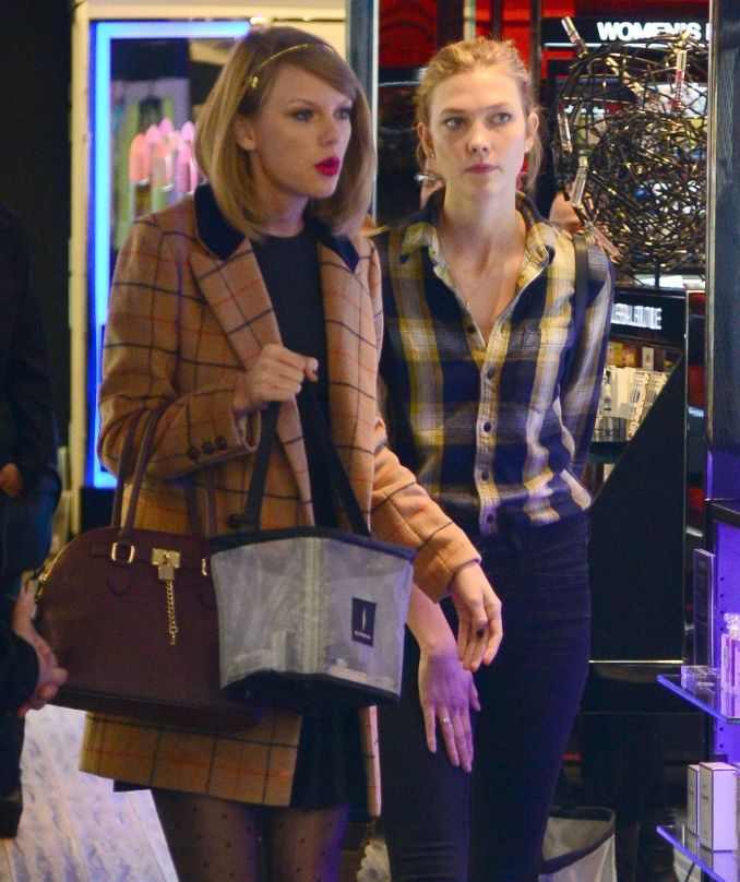 Taylor Swift ir Karlie Kloss
