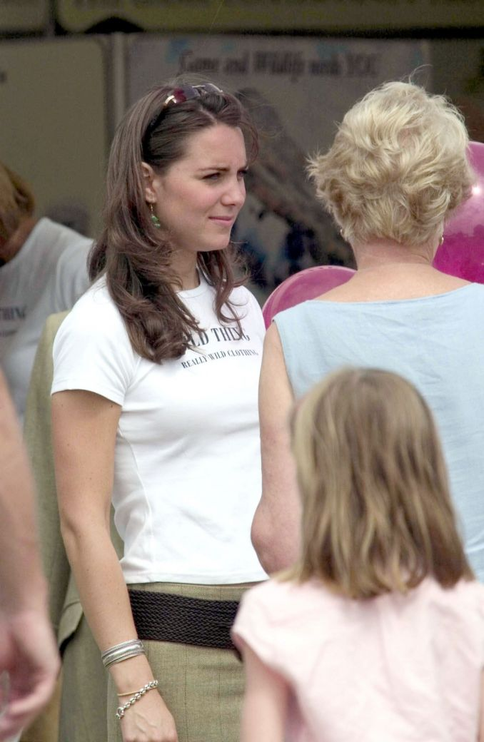 Kate Middleton kadaise